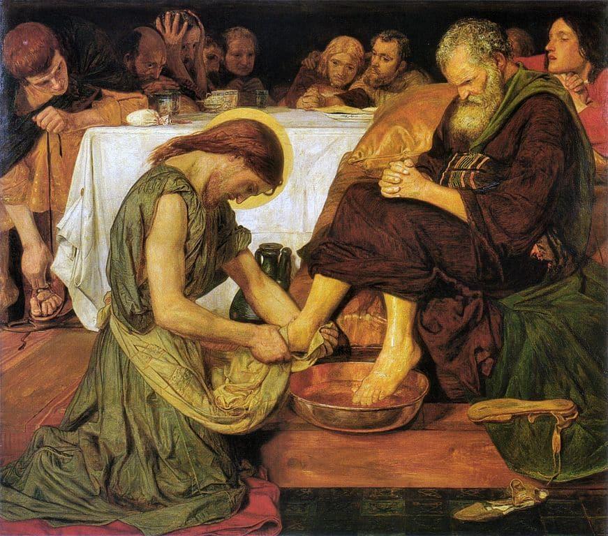 foot washing
