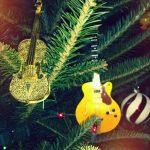 guitar instruments on tree