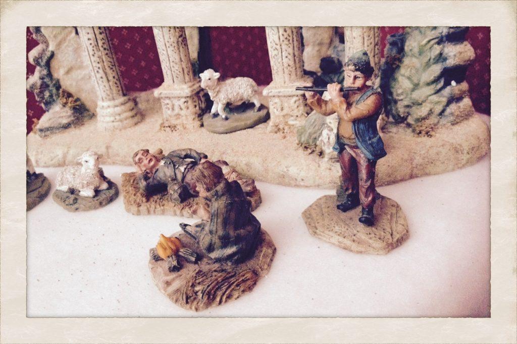 shepherds from my nativity set