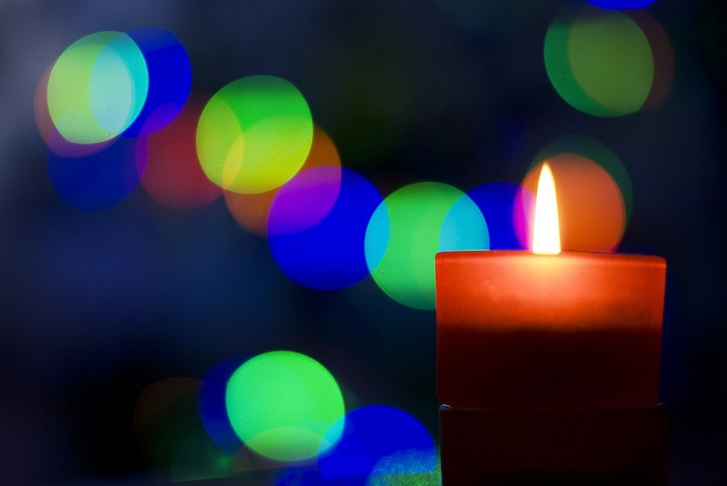 candle for advent