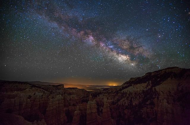 fairyland canyon starry night